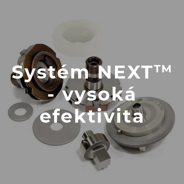 Systém NEXT™ - vysoká efektivita