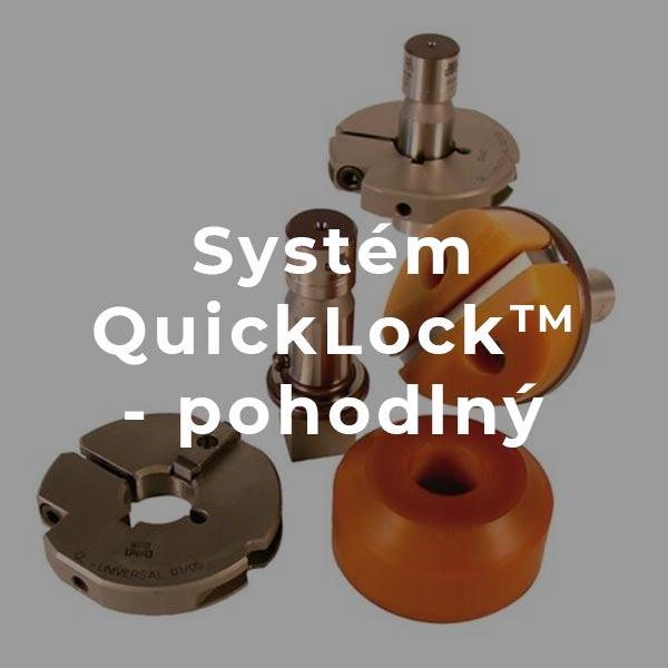 Systém quicklock – pohodlný